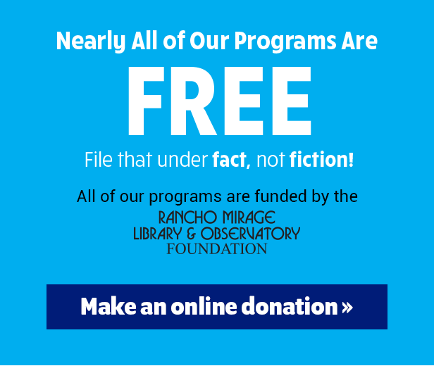 donate rancho mirage library observatory